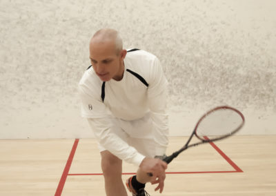 Rob Whitehouse backhand squash